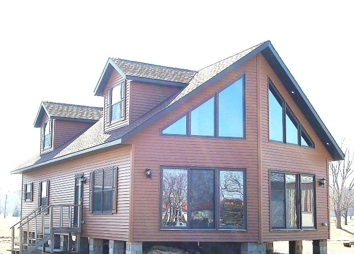 Our manufactured modular homes in iowa ida grove homes for Modular homes with lofts